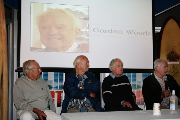 Pioneers Night Gordon Woods, Joe Larkin, Bill Wallace and Ken Wiles