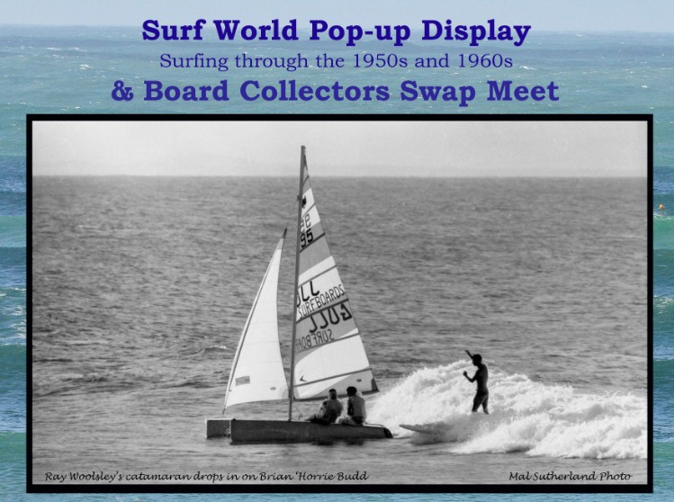 Surf World Pop-Up Display & Swap Meet
