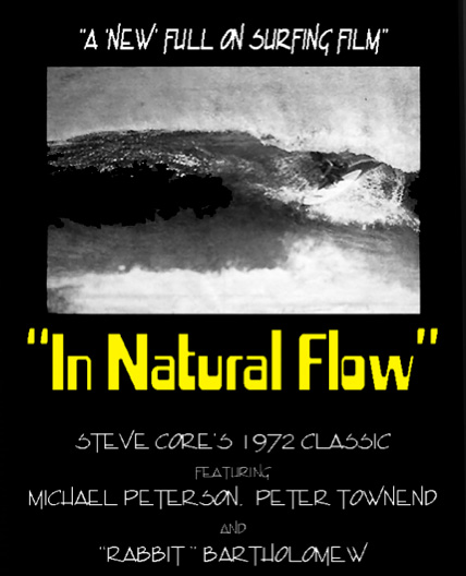 In natural flow