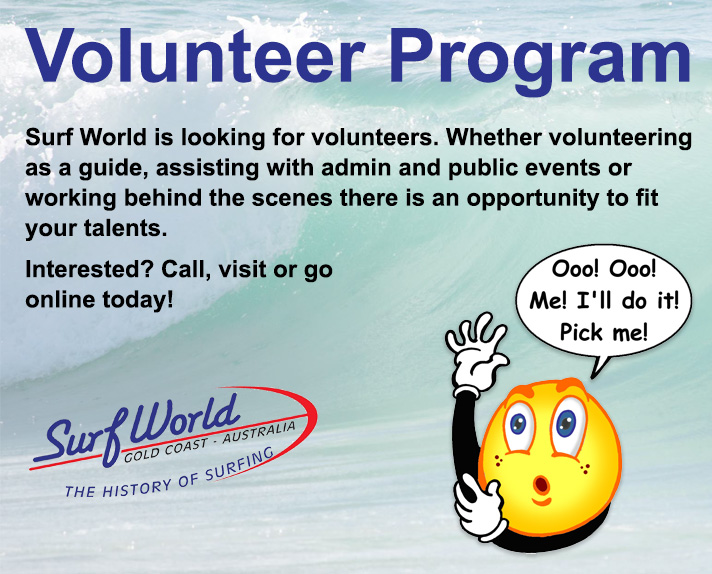 Surf World Volunteer Program