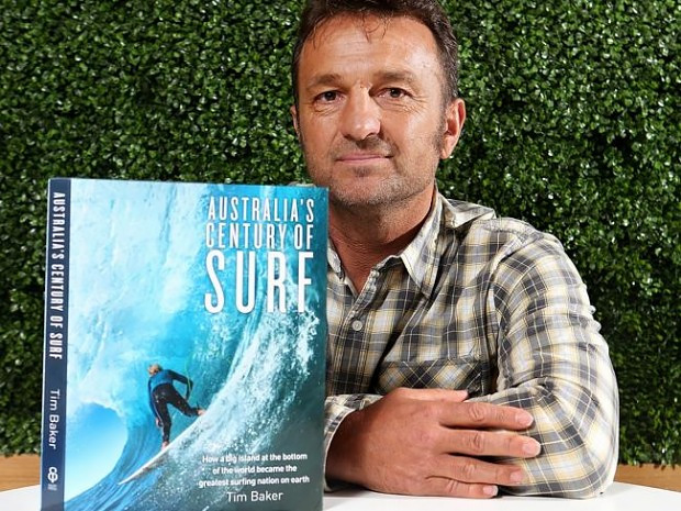 Tim Baker's 100 years of Australian Surf exhibition