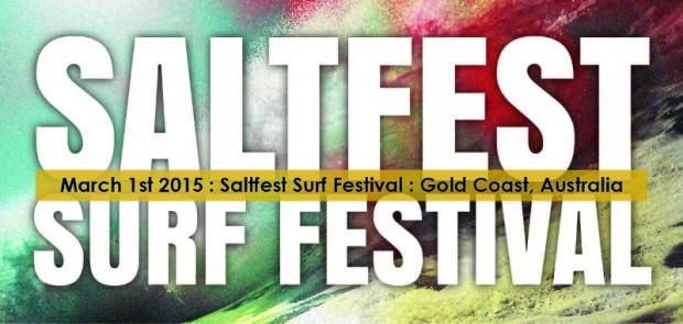 Surf World Display at Saltfest Surf Festival