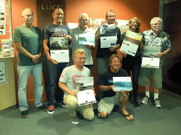 Surf World Calendar Launch Night