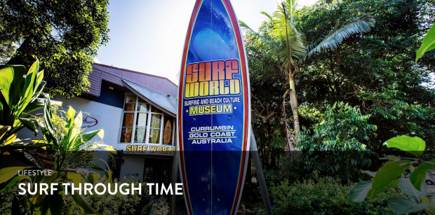Surf Through Time With Tim Baker